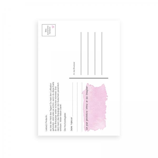 Hochzeit-Postkarte-Ballon-2